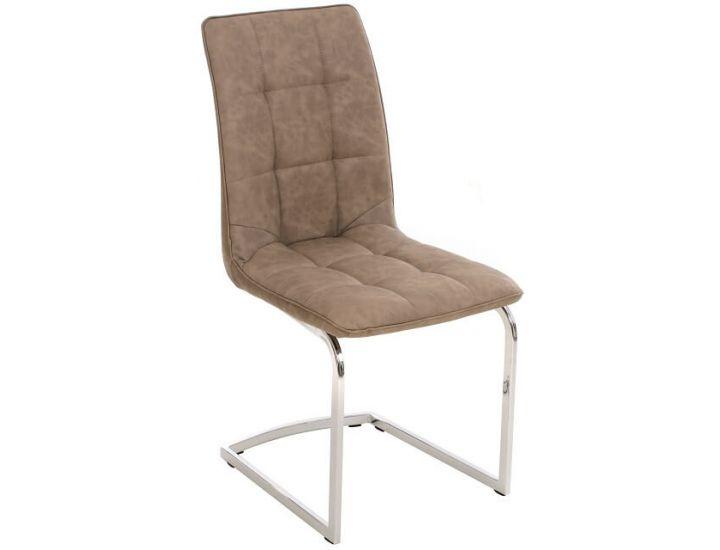 Дизайнерский мягкий стул S-111 бежевый