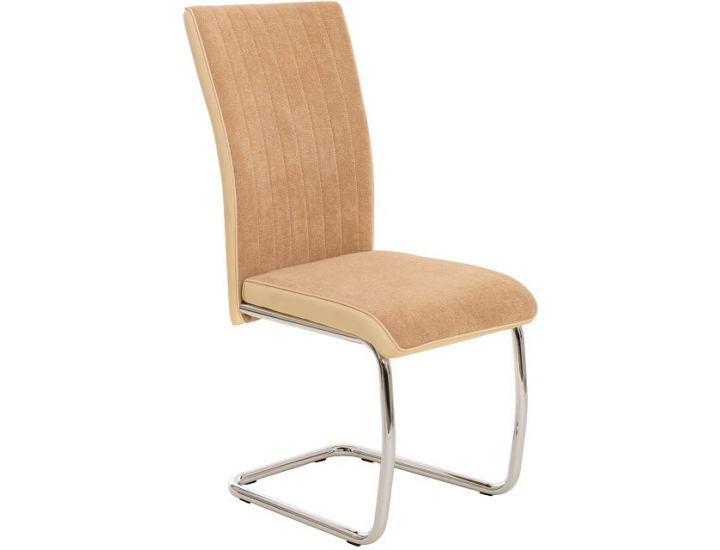 Дизайнерский мягкий стул S-112 бежевый