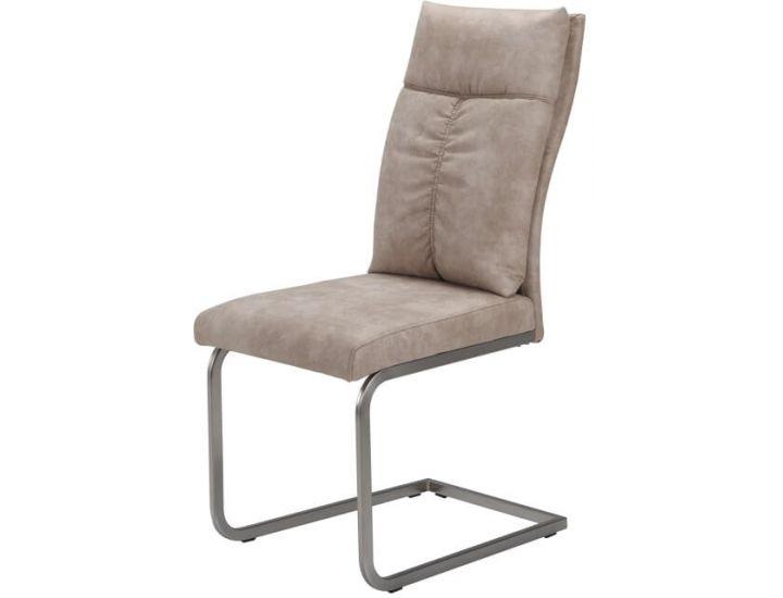 Дизайнерский мягкий стул S-115 бежевый