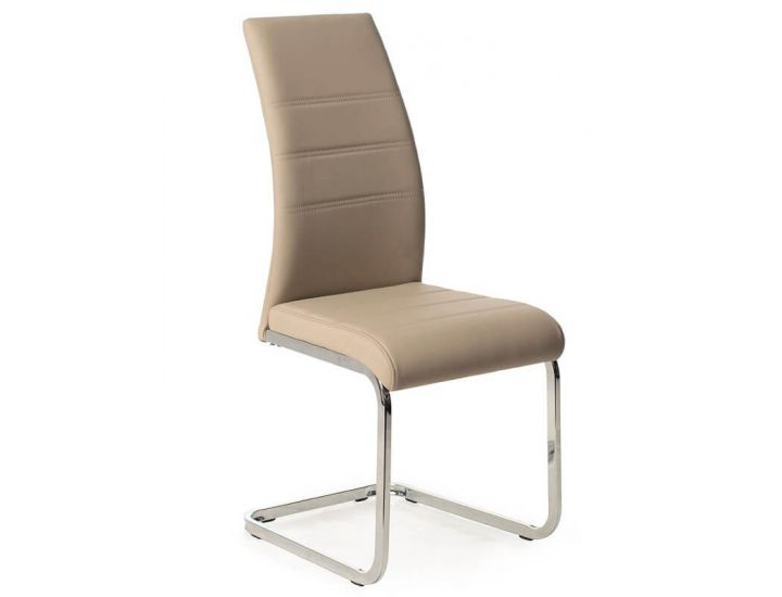 Дизайнерский мягкий стул S-116 капучино
