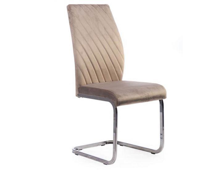 Мягкий стул S-118 капучино вельвет
