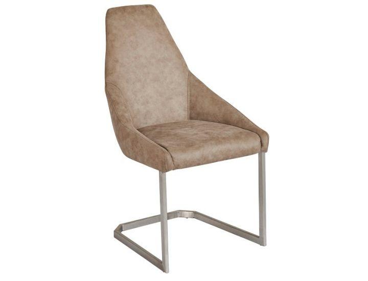 Дизайнерский мягкий стул S-217 бежевый