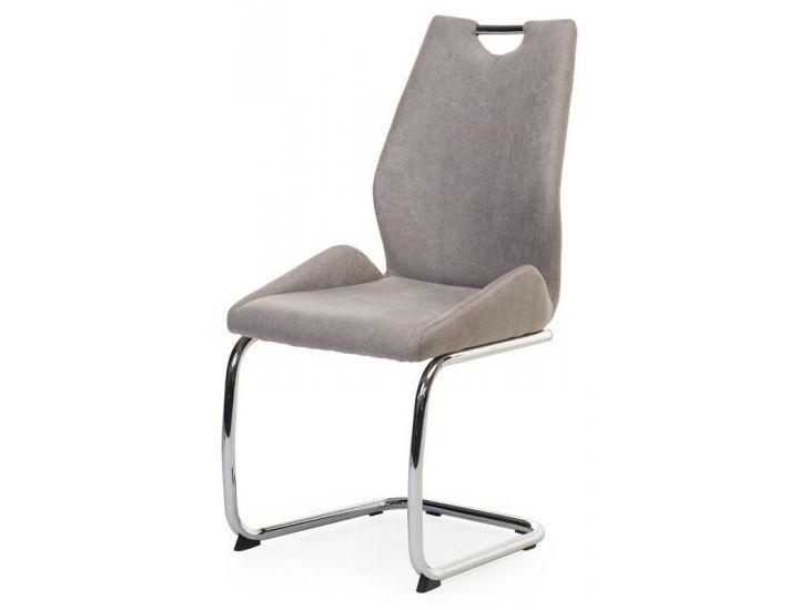 Дизайнерский мягкий стул S-221 капучино