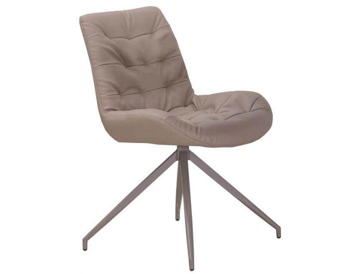 Дизайнерский мягкий стул S-222 латте