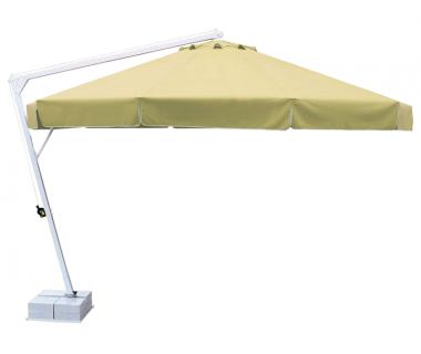 Зонт профессиональный Umbrella House круглый d 3,5 м BANANA CLASSIC мрамор база (160 кг)