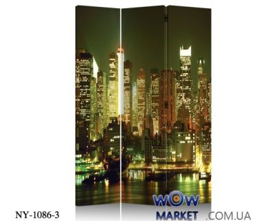 Ширма декоративная NY-1086-3 Onder Metal (Ондер Металл)