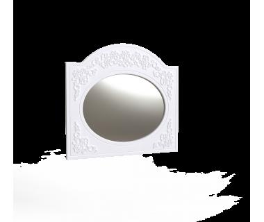 Зеркало овальное Amelie Art In Head 1000x930x20 белый супермат (103040101)