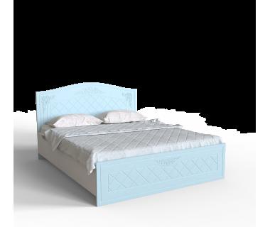 Кровать 1,4 Amelie Голубая лагуна