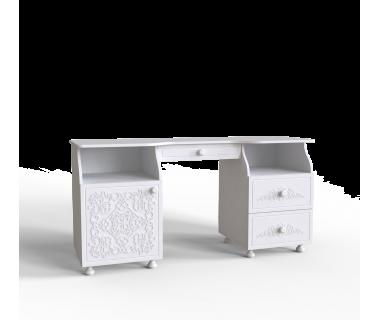Стол туалетный Amelie Art In Head белый супермат (103020101)