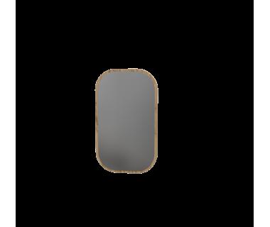 Зеркало 100 Swan Art In Head 600x1000x10 дуб тахо (вертикальная текстура) (105040411)