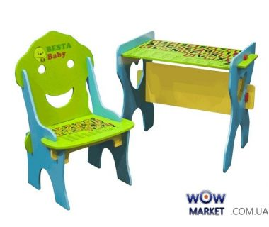 Детский стол и стул 7718 BestaBaby