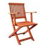 Складной стул с подлокотниками MFC-211