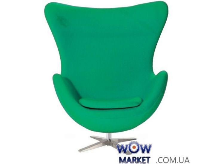 Кресло Egg (Эгг) зеленый ткань SDM (Групо СДМ)