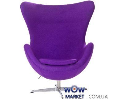 Кресло Egg (Эгг) фиолетовый ткань SDM (Групо СДМ)