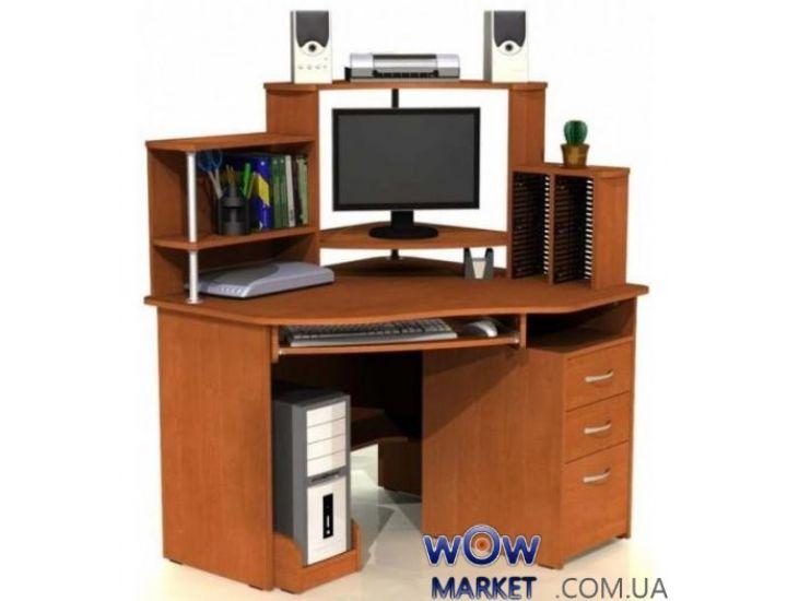 Угловой компьютерный стол С 215 CD Компасс