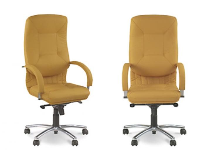 Кресло офисное Apollo steel chrome (Аполо Стил Хром) Новый стиль