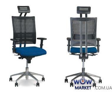 Кресло руководителя E-Motion R HR ES AL32 (Э-Моушин) Новый Стиль