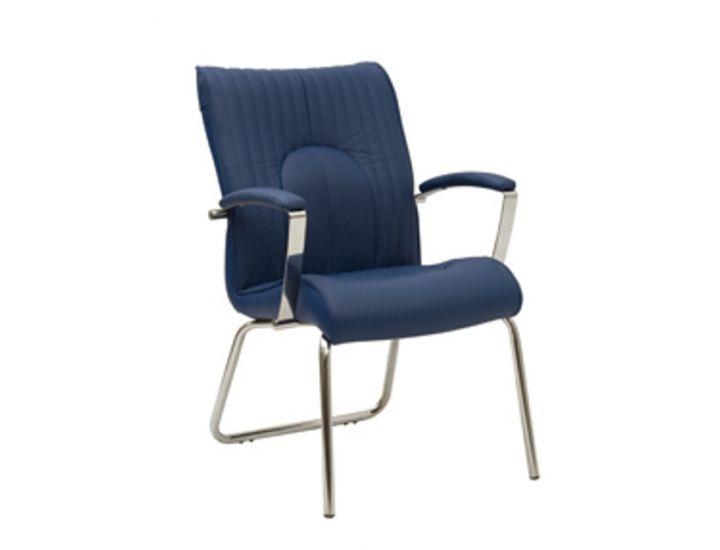 Офисное кресло (Фелиция) Felicia steel cfa Lb Chrome Новый стиль