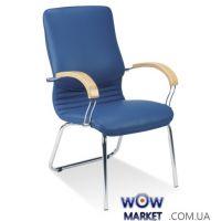 Кресло офисное Nova wood CFA LB chrome (Нова) Новый стиль
