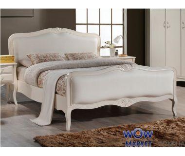 Кровать Богемия 180х200см (античный белый) Domini (Домини)
