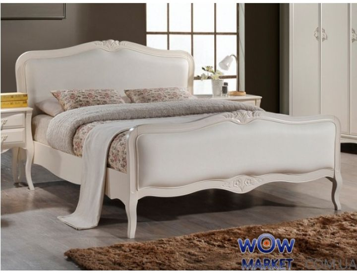 Кровать Богемия 160х200см (античный белый) Domini (Домини)