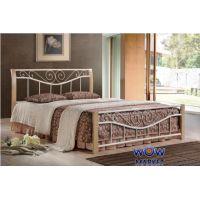 Кровать двуспальная Ленора 160х200см ДЛ (крем) Domini (Домини)