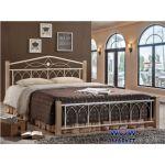 Кровать двуспальная Миранда 1600х2000 ДЛ (крем) Domini (Домини)