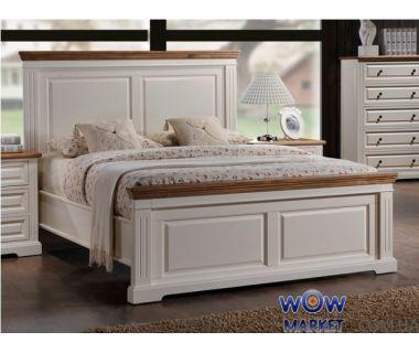 Кровать Калифорния 160х200см (античный белый) Domini (Домини)
