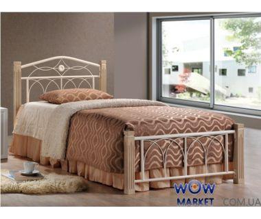 Кровать односпальная Миранда 90х200см ДЛ (крем) Domini (Домини)