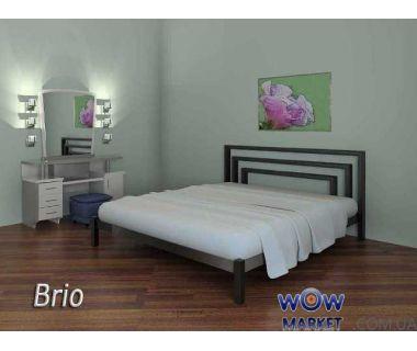 Кровать металлическая Brio (Брио) 200(190)X140 без изножья Метакам