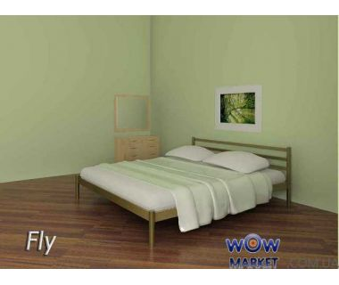 Кровать металлическая Fly (Флай) 200(190)x160 без изножья Метакам