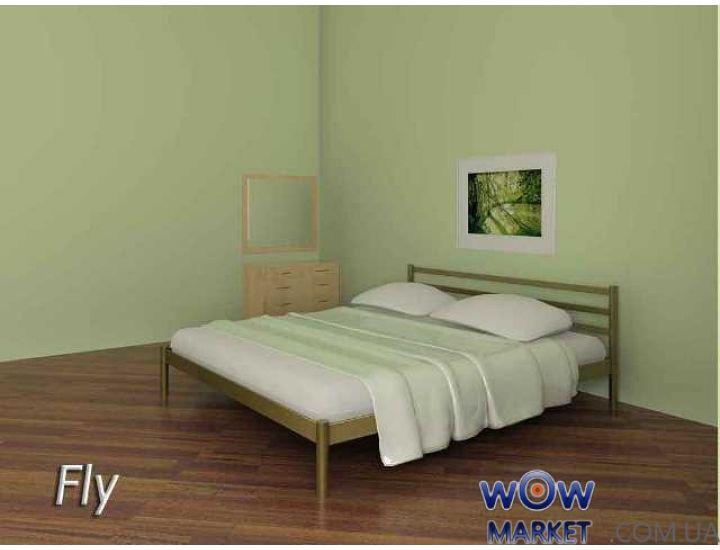Кровать металлическая Fly (Флай) 200(190)x140(120) без изножья Метакам