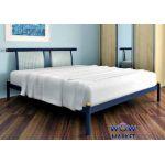 Кровать металлическая Siera (Сиера) 200(190)x90см Метакам