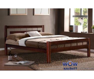 Кровать двуспальная Альмерия 160х200см Микс-Мебель Элегант
