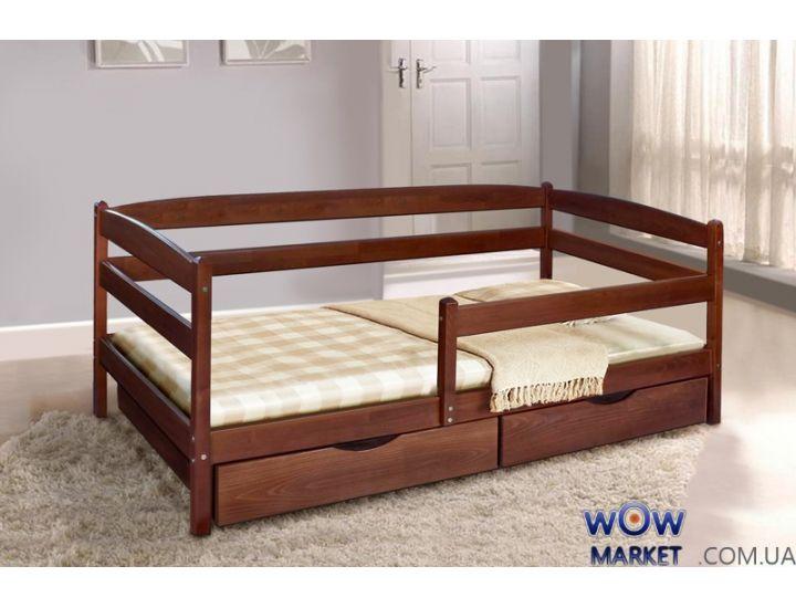 Кровать односпальная Ева с ящиками Мария Микс-Мебель