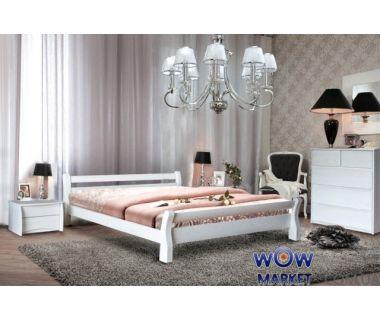 Кровать двуспальная Монреаль (Ясень) 160х200см Микс-Мебель Элегант