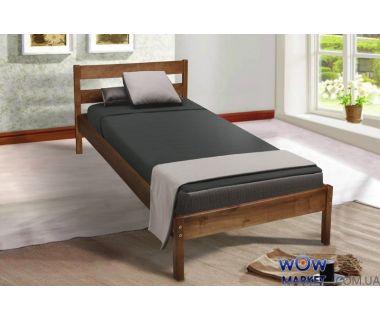 Кровать односпальная Sky-1 (Скай-1) коньяк Микс Мебель