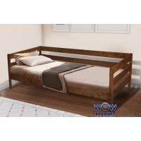 Кровать односпальная Sky-3 (Скай-3) 80х190см коньяк, венге Эко модерн Микс Мебель