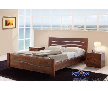 Кровать двуспальная Вивия (Ясень) Микс Мебель Элегант