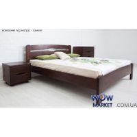 Кровать двуспальная Каролина 180х200см без изножья Микс-Мебель Мария