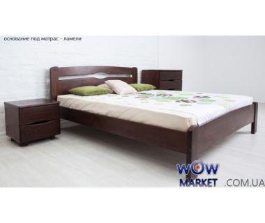 Кровать двуспальная Каролина 160х200см без изножья Микс-Мебель Мария