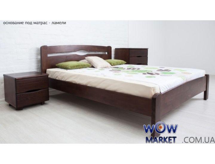 Кровать полуторная  Каролина 120 (140) х 200 см без изножья Микс-Мебель Мария