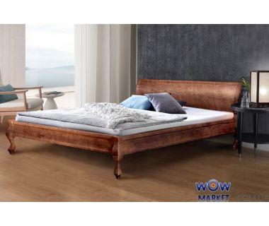 Кровать двуспальная Николь (Сосна) 160х200см Микс Мебель Уют