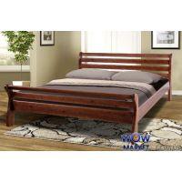 Кровать двуспальная Ретро-2 (Сосна) 160х200см Микс Мебель Уют