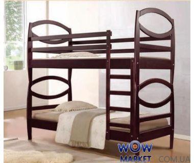 Кровать двухъярусная Виктория (Ольха) 80х200см Элегант Микс Мебель