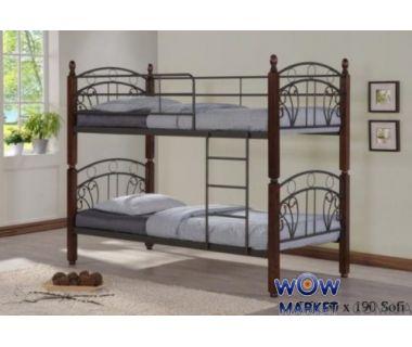 Кровать двухъярусная DD Софи (DD Sofi) 90х190см Onder Metal (Ондер Металл)