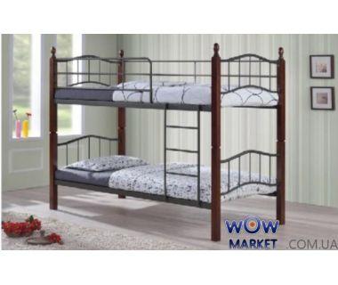 Кровать двухъярусная DD Iris (ДД Ирис) 90х190см Onder Metal (Ондер Металл)