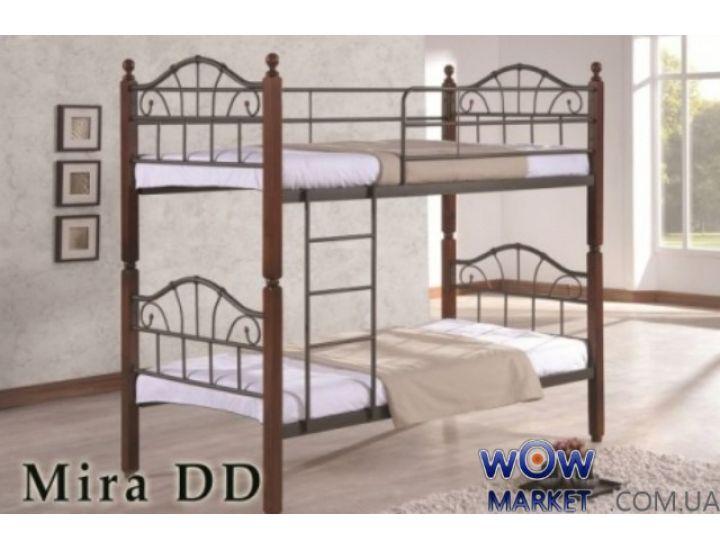 Кровать двухъярусная ДД Мира (DD Mira) 90х190см Onder Metal (Ондер Металл)
