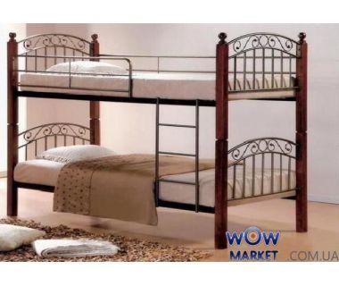 Кровать двухъярусная DD Злата Н (DD Zlata N) 90х200см Onder Metal (Ондер Металл)