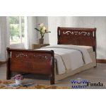 Кровать односпальная Фунда (Funda) 90х200 Onder Metal (Ондер Металл)